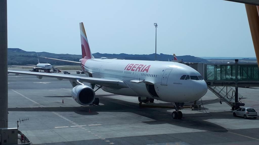 Iberia Airline - Anreise nach Boca Chica über Santo Domingo
