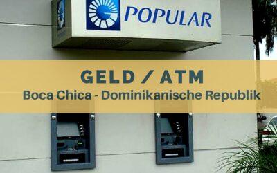 Geld – ATM – Kreditkarten in Boca Chica